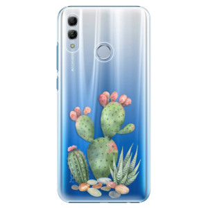 Plastové pouzdro iSaprio Kaktusy 01 na mobil Honor 10 Lite