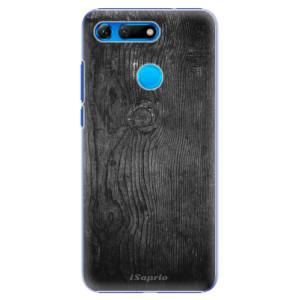 Plastové pouzdro iSaprio Black Wood 13 na mobil Honor View 20