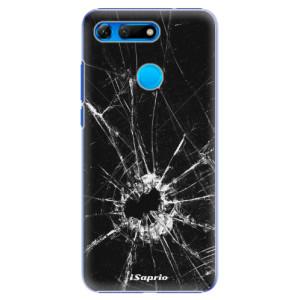 Plastové pouzdro iSaprio Broken Glass 10 na mobil Honor View 20