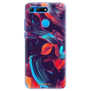 Plastové pouzdro iSaprio Barevný mramor 19 na mobil Honor View 20