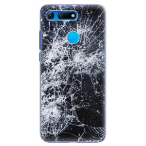 Plastové pouzdro iSaprio Praskliny na mobil Honor View 20