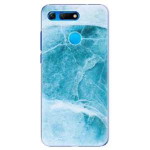 Plastové pouzdro iSaprio Blue Marble na mobil Honor View 20