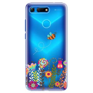 Plastové pouzdro iSaprio Včelka Pája 01 na mobil Honor View 20