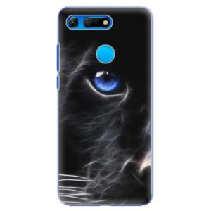 Plastové pouzdro iSaprio Black Puma na mobil Honor View 20