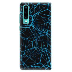 Plastové pouzdro iSaprio Abstract Outlines 12 na mobil Huawei P30