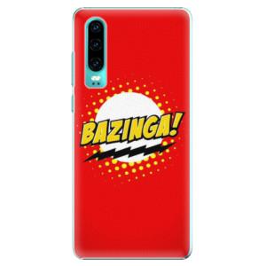 Plastové pouzdro iSaprio Bazinga 01 na mobil Huawei P30