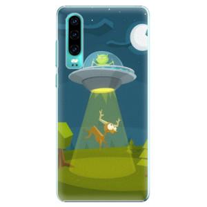 Plastové pouzdro iSaprio Ufouni 01 na mobil Huawei P30