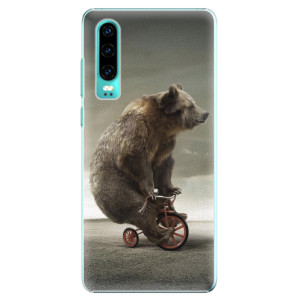 Plastové pouzdro iSaprio Medvěd 01 na mobil Huawei P30