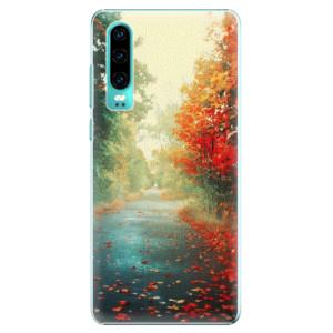 Plastové pouzdro iSaprio Podzim 03 na mobil Huawei P30