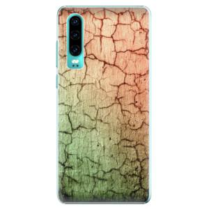 Plastové pouzdro iSaprio Rozpraskaná Zeď 01 na mobil Huawei P30