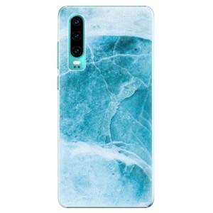 Plastové pouzdro iSaprio Blue Marble na mobil Huawei P30