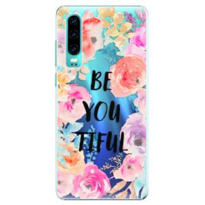 Plastové pouzdro iSaprio BeYouTiful na mobil Huawei P30