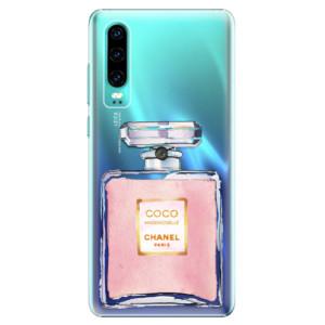 Plastové pouzdro iSaprio Chanel Rose na mobil Huawei P30