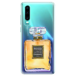 Plastové pouzdro iSaprio Chanel Gold na mobil Huawei P30