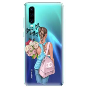 Plastové pouzdro iSaprio Beautiful Day na mobil Huawei P30