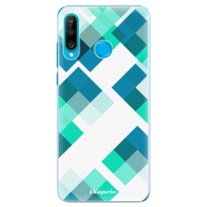 Plastové pouzdro iSaprio Abstract Squares 11 na mobil Huawei P30 Lite
