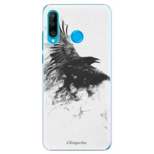 Plastové pouzdro iSaprio Havran 01 na mobil Huawei P30 Lite - poslední kus za tuto cenu
