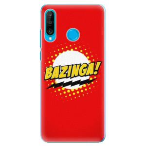 Plastové pouzdro iSaprio Bazinga 01 na mobil Huawei P30 Lite