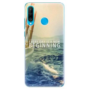 Plastové pouzdro iSaprio Beginning na mobil Huawei P30 Lite