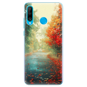 Plastové pouzdro iSaprio Podzim 03 na mobil Huawei P30 Lite