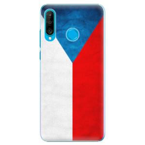 Plastové pouzdro iSaprio Česká Vlajka na mobil Huawei P30 Lite