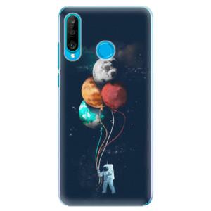 Plastové pouzdro iSaprio Balónky 02 na mobil Huawei P30 Lite