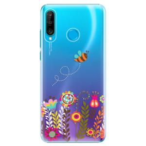 Plastové pouzdro iSaprio Včelka Pája 01 na mobil Huawei P30 Lite
