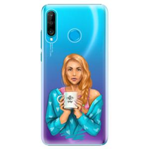 Plastové pouzdro iSaprio Coffee Now Zrzka na mobil Huawei P30 Lite