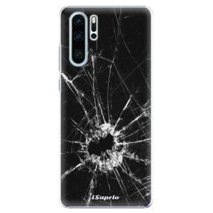 Plastové pouzdro iSaprio Broken Glass 10 na mobil Huawei P30 Pro