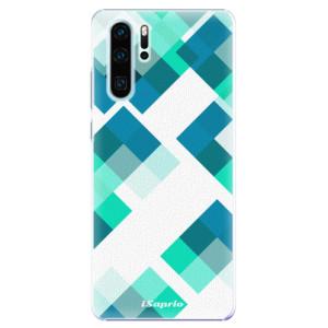 Plastové pouzdro iSaprio Abstract Squares 11 na mobil Huawei P30 Pro