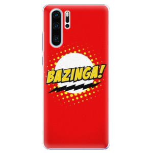 Plastové pouzdro iSaprio Bazinga 01 na mobil Huawei P30 Pro