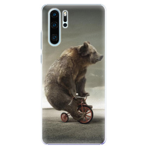 Plastové pouzdro iSaprio Medvěd 01 na mobil Huawei P30 Pro