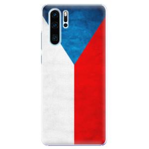Plastové pouzdro iSaprio Česká Vlajka na mobil Huawei P30 Pro