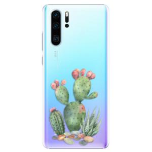 Plastové pouzdro iSaprio Kaktusy 01 na mobil Huawei P30 Pro