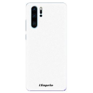 Plastové pouzdro iSaprio 4Pure bílé na mobil Huawei P30 Pro