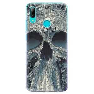 Plastové pouzdro iSaprio Abstract Skull na mobil Huawei P Smart 2019