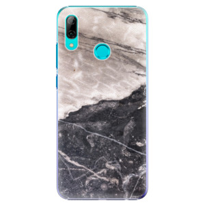 Plastové pouzdro iSaprio BW Mramor na mobil Huawei P Smart 2019