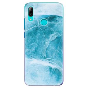 Plastové pouzdro iSaprio Blue Marble na mobil Huawei P Smart 2019