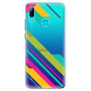 Plastové pouzdro iSaprio Barevné Pruhy 03 na mobil Huawei P Smart 2019