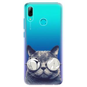 Plastové pouzdro iSaprio Šílená Číča 01 na mobil Huawei P Smart 2019