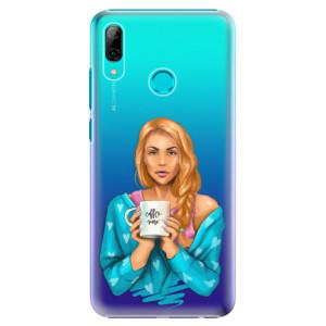 Plastové pouzdro iSaprio Coffee Now Zrzka na mobil Huawei P Smart 2019