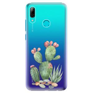 Plastové pouzdro iSaprio Kaktusy 01 na mobil Huawei P Smart 2019