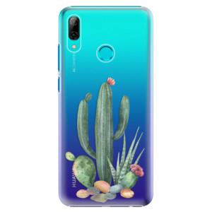 Plastové pouzdro iSaprio Kaktusy 02 na mobil Huawei P Smart 2019