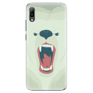 Plastové pouzdro iSaprio Naštvanej Medvěd na mobil Huawei Y6 2019