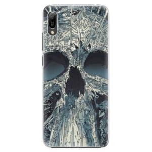 Plastové pouzdro iSaprio Abstract Skull na mobil Huawei Y6 2019