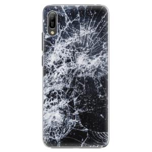 Plastové pouzdro iSaprio Praskliny na mobil Huawei Y6 2019