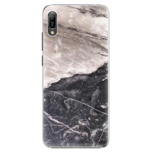 Plastové pouzdro iSaprio BW Mramor na mobil Huawei Y6 2019