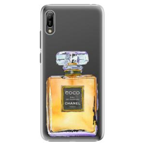 Plastové pouzdro iSaprio Chanel Gold na mobil Huawei Y6 2019