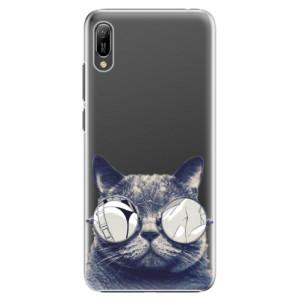 Plastové pouzdro iSaprio Šílená Číča 01 na mobil Huawei Y6 2019
