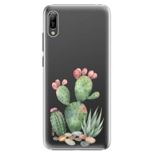 Plastové pouzdro iSaprio Kaktusy 01 na mobil Huawei Y6 2019
